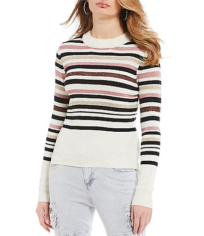 Buffalo David Bitton Line Me Up Striped Sweater