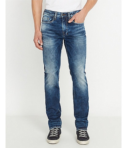 Buffalo David Bitton Six-x Lighter Wash Slim Fit Jeans
