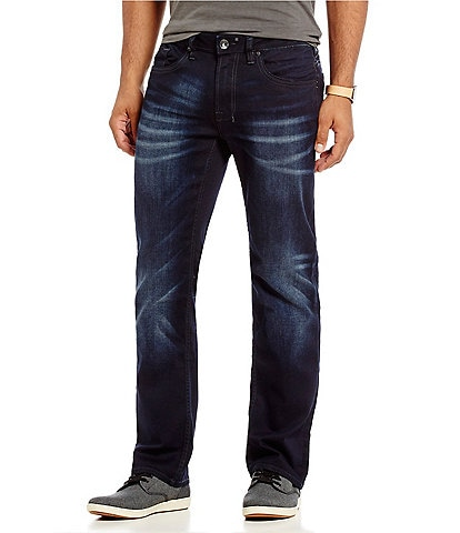 Buffalo David Bitton Six-X Slim Straight Jeans