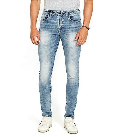 Buffalo David Bitton Skinny Max Fit Light Wash Jeans