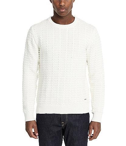 Buffalo David Bitton Waffle Textured Sweater
