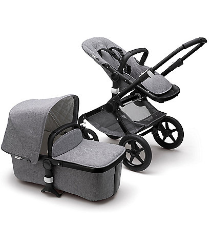 Bugaboo Core Fox 2 Complete Comfort Stroller - Black Chassis