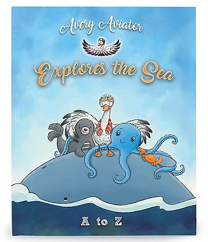 Bunnies By The Bay Avery Aviator Explores the Sea A to Z Board Book