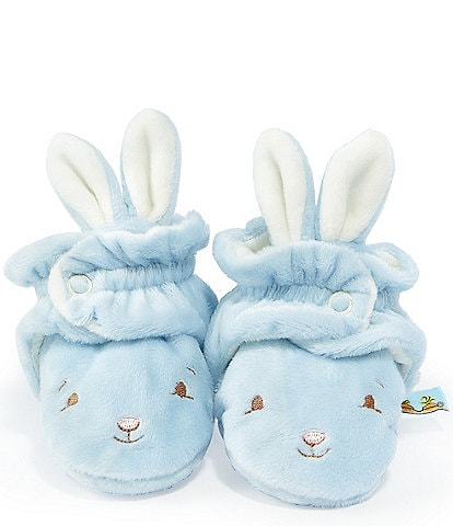 Bunnies By The Bay Baby Boys Newborn-6 Months Hoppy Feet Bootie Slippers