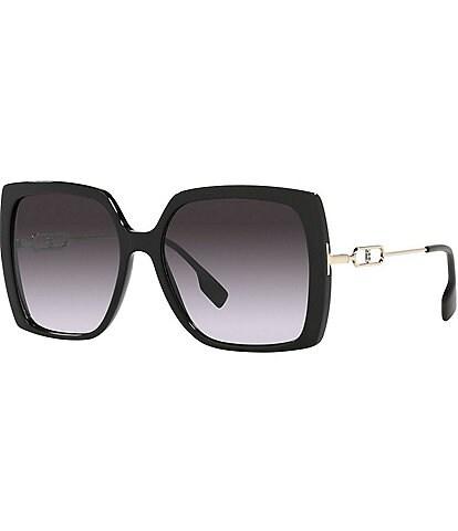 Burberry Ladies Square Gradient Sunglasses