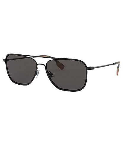 Burberry Men's Be3112 59mm Navigator Sunglasses