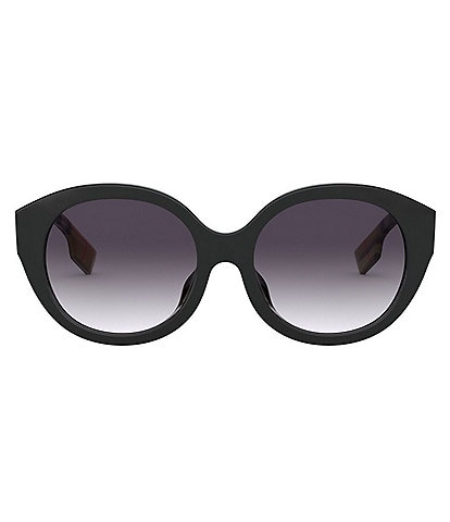 Burberry Monogram Motif Cat Eye Sunglasses