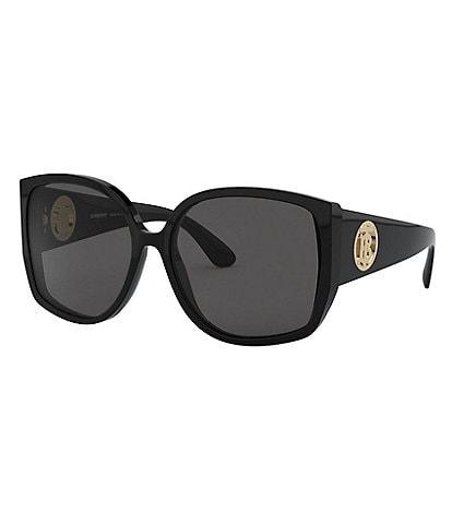 Burberry Tortoise Oversized Butterfly Sunglasses