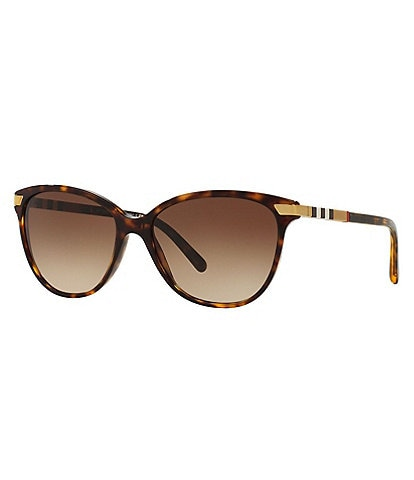 Burberry Women's Be4216f Cat Eye 57mm Sunglasses