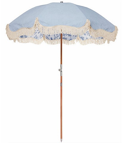 business & pleasure Chinoiserie Premium Beach Umbrella
