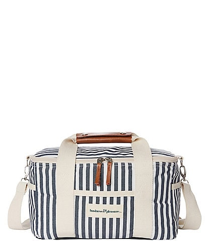 business & pleasure Lauren's Navy Stripe Premium Cooler