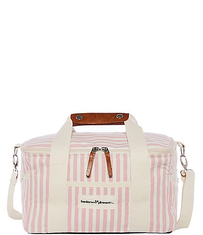 business & pleasure Lauren's Pink Stripe Premium Cooler
