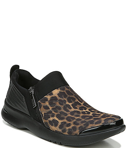 Bzees Axis Leopard Print Washable Sneakers