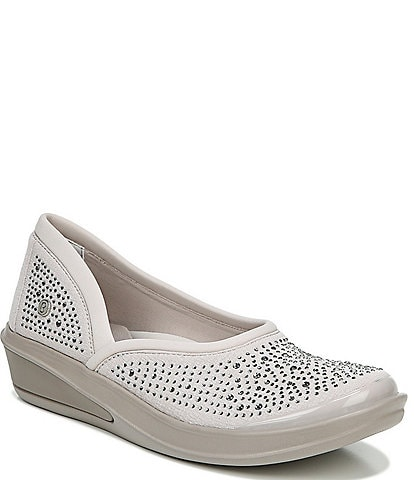 Bzees Moonlight Rhinestone Embellished Washable Slip-Ons