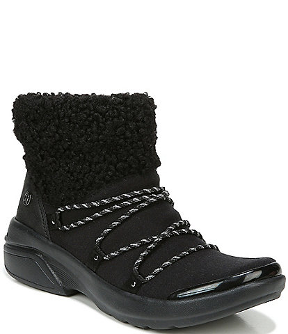 Bzees Ovation Faux Fur Water Resistant Booties