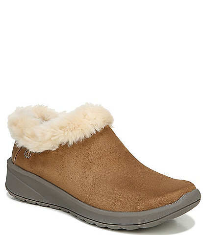 Bzees Premium Golden Go Washable Faux Fur Lined Booties