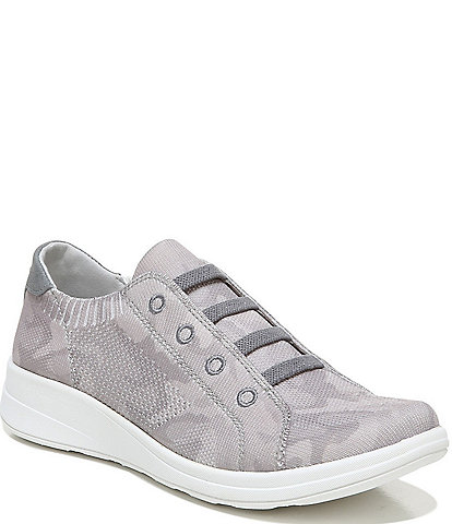 Bzees Premium Golden Knit Washable Slip-On Sneakers