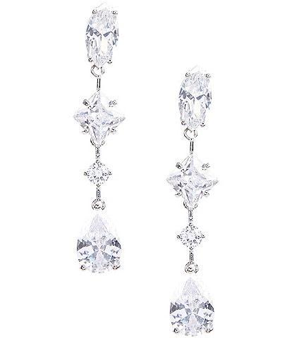 C by Cezanne Linear Earrings