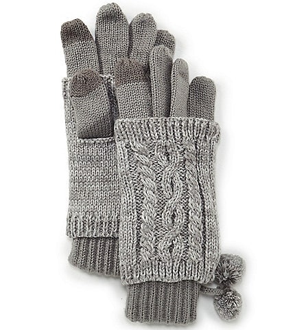 C.C. BEANIES Marled 3-In-1 Touch Gloves