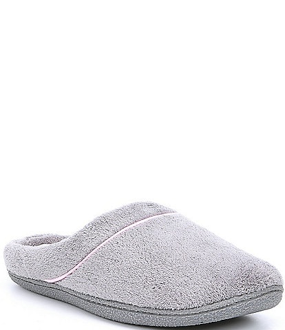 Cabernet Microfiber Terry Slippers
