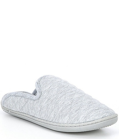 Cabernet Quilted Jersey Slippers