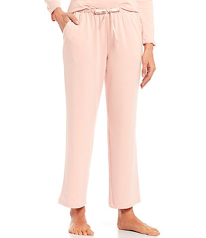 Cabernet Solid French Terry Sleep Pants