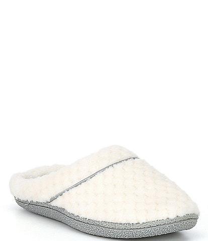 Cabernet Textured Terry Clog Slipper
