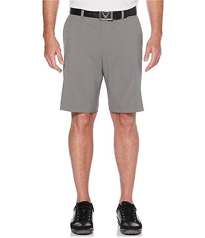 Callaway Classic Flat-Front 10#double; Inseam Golf Shorts