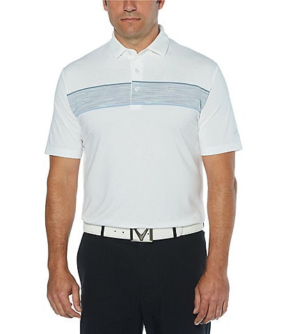 Callaway Golf Swingtech Space Dye Short-Sleeve Polo