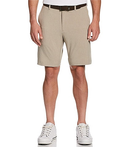 Callaway Golf 9#double; Inseam SwingTech Flat-Front Shorts