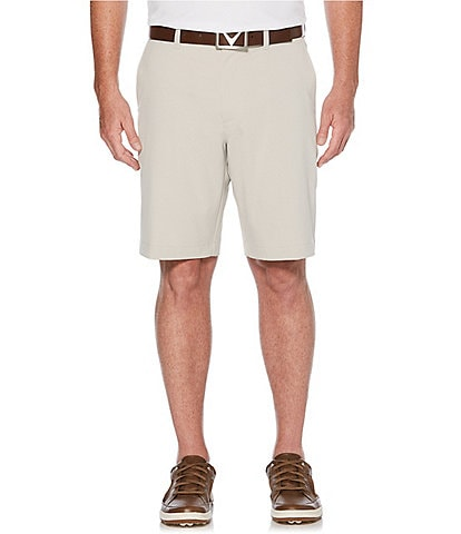 Callaway Golf Big & Tall 10 1/2#double; Inseam Classic Flat-Front Shorts