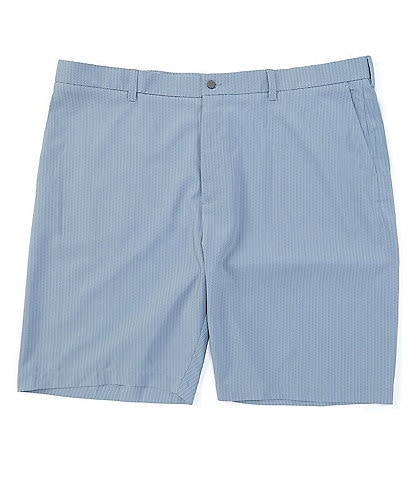 Callaway Golf Big & Tall Flat-Front Stretch 10#double; Inseam Shorts