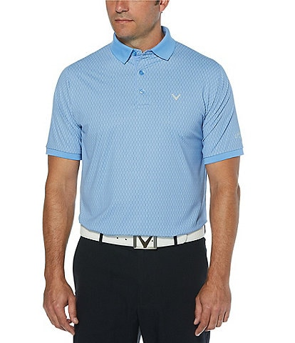 Callaway Golf Swingtech All over Print Short-Sleeve Polo