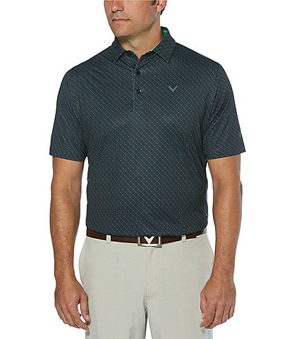 Callaway Golf Swingtech Chevron Short-Sleeve Polo