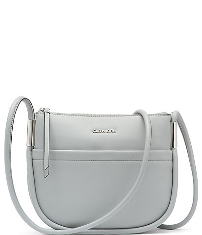 Calvin Klein Angelique Top Zip Crossbody Bag