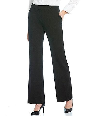Calvin Klein Classic Fit Flare-Leg Pants