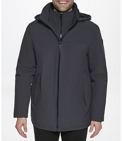 Calvin Klein Classic Long-Sleeve Overcoat