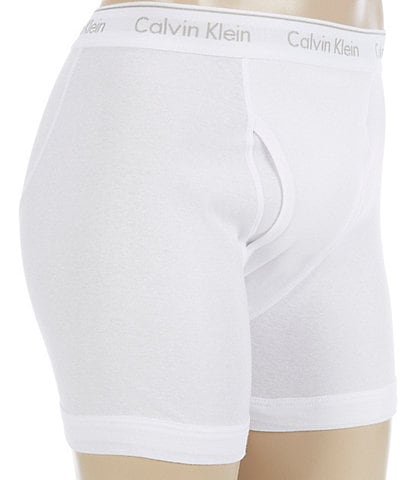 Calvin Klein Cotton Classic Solid Boxer Briefs 3-Pack