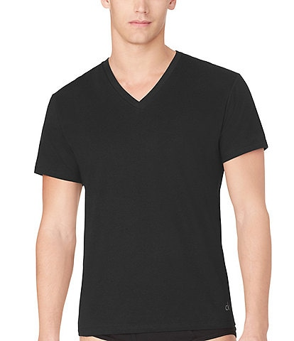 4a6d55dec8996 Calvin Klein Cotton Classic V-Neck Under Shirts 3-Pack