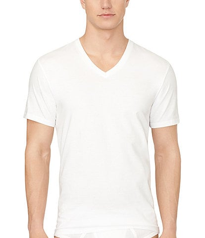 Calvin Klein Cotton Classic V-Neck Under Shirts 3-Pack