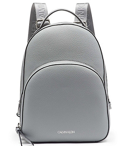 Calvin Klein Estelle Textured Double Zip Backpack