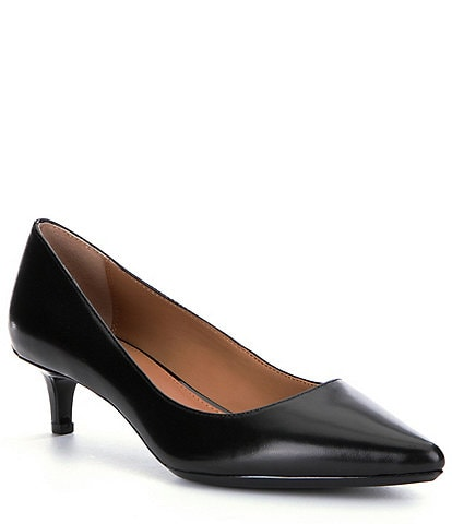 Calvin Klein Gabrianna Pointed-Toe Kitten Pumps