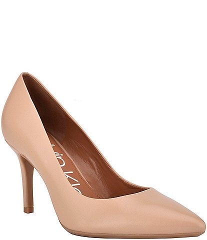 Calvin Klein Gayle Leather Pumps