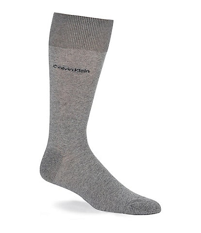 Calvin Klein Giza Cotton Crew Dress Socks
