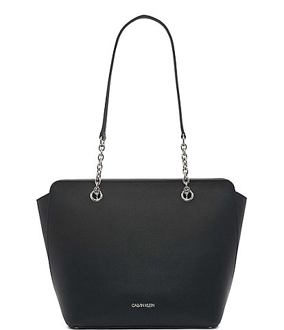 Calvin Klein Hailey Pebbled Texture Tote Bag