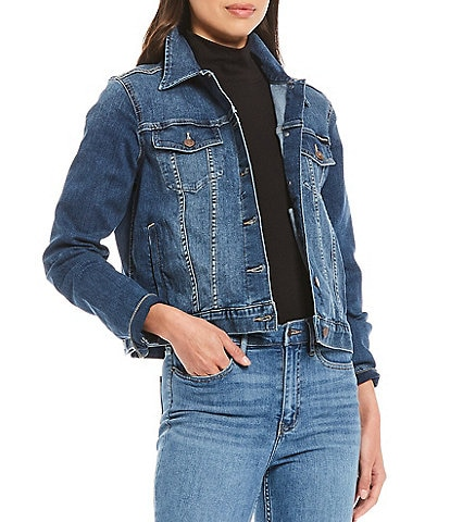 Calvin Klein Jeans Denim Long Sleeve Trucker Jacket
