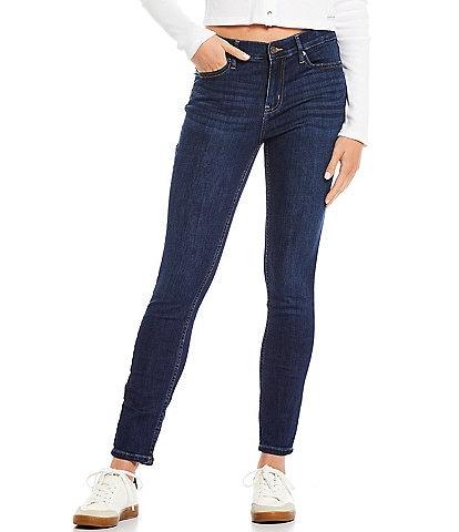 Calvin Klein Jeans Whisper Mid-Rise Skinny Jeans