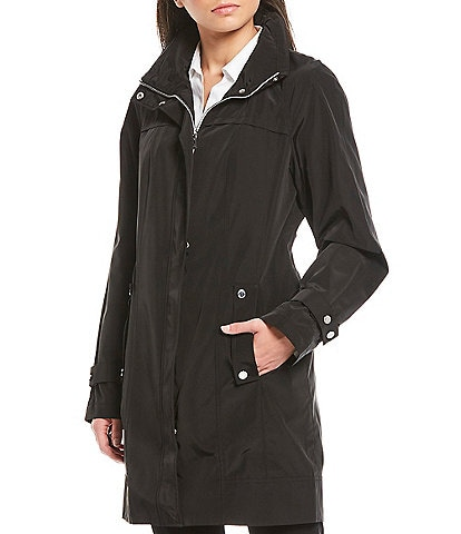 Calvin Klein Light Weight Packable Woven Anorak Jacket