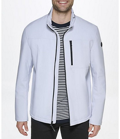 Calvin Klein Long-Sleeve Soft Shell Jacket