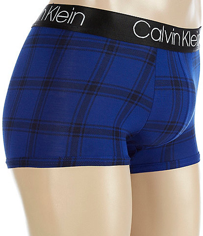 Calvin Klein Modal Plaid Trunks
